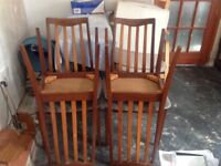 Retro vintage G Plan chairs