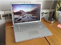 "15.4"" MACBOOK PRO 320GB, 2.5GHZ INTEL CORE DUO, 2GB MEMORY GOOD CONDITION"