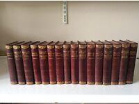16 Charles Dickens Books c 1930 publishers Hazel,Watson & Viney ltd