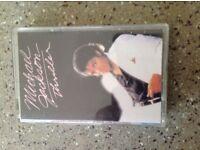 Michael Jackson original thriller cassette