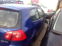 2004 VOLKSWAGEN GOLF MK5 2.0 DIESEL BREAKING FOR PARTS ONLY POSTAGE AVAILABLE NATIONWIDE