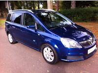 VAUXHALL ZAFIRA 1.6 ACTIVE EDITION, 5 SPEED MANUAL, 7 SEATS, 12 MONTH MOT, ONLY 2 OWNER, LOVELY CAR