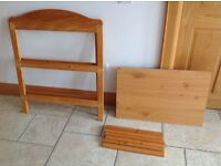 Baby Changing Station. 3 Tier. Pine frame. £30