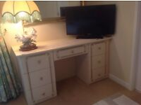 Fitted bedroom wardrobe,dresser and 2 chests