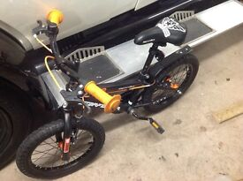 Childs bike do from3 to 7 year old