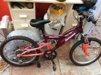 Child's bycicle excellent condition new tyres