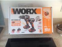 Worx 20V Combo Kit brand new.