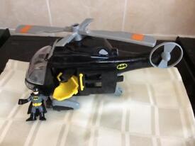 Imaginext Batman Helicopter