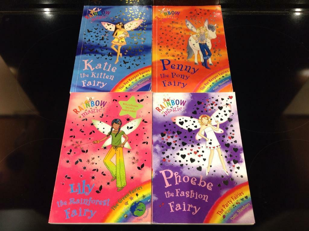 Rainbow Magic Books x 4
