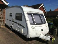 CARAVAN SWIFT CHALLENGER 480 2007 2 BERTH WITH CARAVAN MOVER