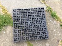 Garden plastic paving slabs free to uplift......now gone thanks everyone