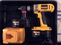 DEWALT CORDLESS TOOLS X 2 BOTH EXCELLENT USED CONDITION