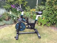 Lean Cycle/spinner exercise bike.