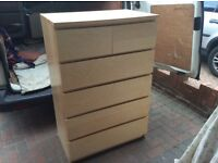 Very large chest of draws, in ex, cond, can deliver