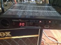 YAMAHA EMP 100 VINTAGE FX BOX WORKING ORDER WITH POWER SUPPLY & MANUAL CIRCA 1990s FOR VOCAL/GUITAR