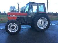 Case international 885 L cab. 4wd mechanically sound tidy tractor