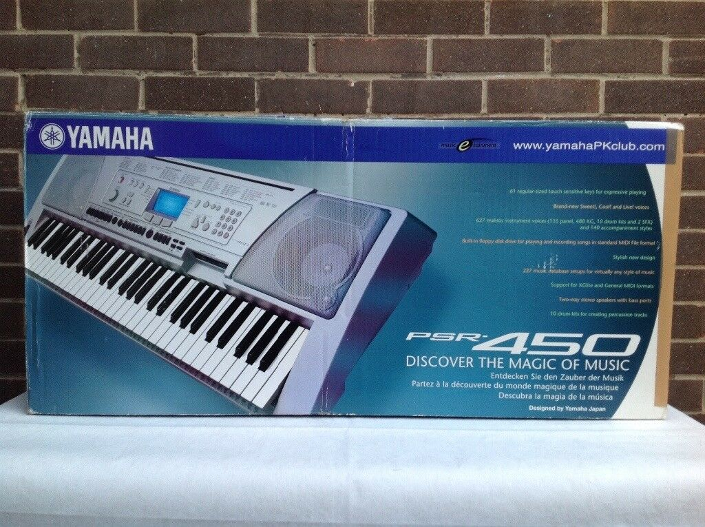 Yamaha PSR-450 Electronic Keyboard | in South Shields, Tyne and Wear |  Gumtree