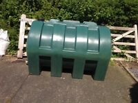 Used 1400 litre Oil Tank.