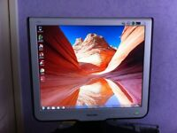 """PHILIPS 17"""" LCD MONITOR (170C6FS/00) - Excellent Condition!"""