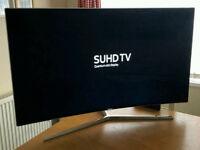 49in Samsung Curved SUHD 4K Quantum Dot Smart LED TV WI-FI Freeview HD & FreeSat HD V-CTRL Warranty