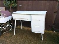 Retro vintage dressing table
