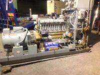 Lister6 cylinder 70 KVA in north Ireland.