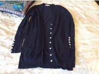 Ladies size 8 Next navy cardigan collect Sprowston or meet at Riverside