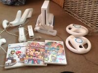 Nintendo Wii and accessories hardly used