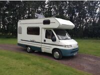 Fiat Ducato swift suntor 520 51 reg 1900 turbo diesel in excellent condition inside and out 4 berth