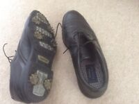 Golf Shoes Size 8 with carry bag