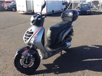 honda 125 scooter ,only done 47 genuine miles from new. freshly serviced and mot with new battery