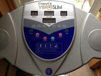 Crazy fit vibrio slim plate massage