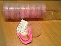Geezers pink gum shields