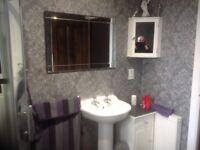 Bathroom cupboards and wall cupboard plus full bathroom