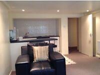 One bedroom basement flat on fashionable Beech Road.
