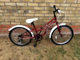 Girls ivory Bike