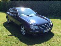 Mercedes Benz 320cdi Diesel Automatic Coupe 3 Door 2005 55 reg