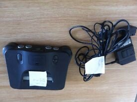 Nintendo 64 console and games (old school)