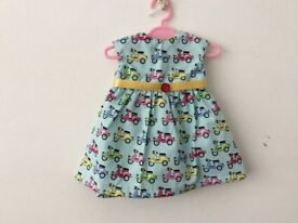 Dolls dress handmade