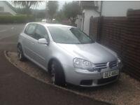 Volkswagen golf Match fsi 1.6 petrol Silver 2007 93k miles £2800 ono