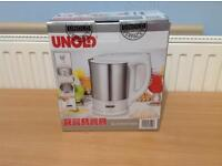 UNOLD 8150 WHITE STAINLESS STEEL CORDLESS KETTLE 1.5 LT