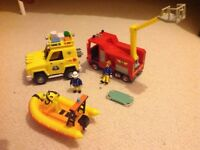 Fireman Sam Vehicles X 3