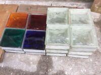 20 glass building blocks