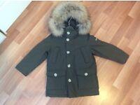 Woolrich coat age 4