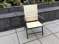 8 garden seats for sale ... can also sell 4 good all good cond