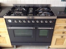 Brittania multifunction Gas Cooking Range, plus double electric oven