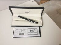 Mont Blanc ball point pen. Cruise Collection, black/black ink.duplicated gift