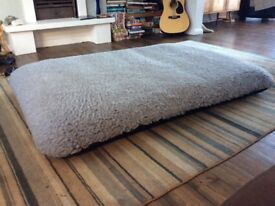 Large Tuffies Dog Bed with cover
