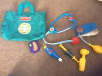 Fisher price doctors set