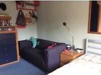 KLIPPAN Set: VANSTA Loveseat sofa with footstool and spare VIMLE slipcover limited ed